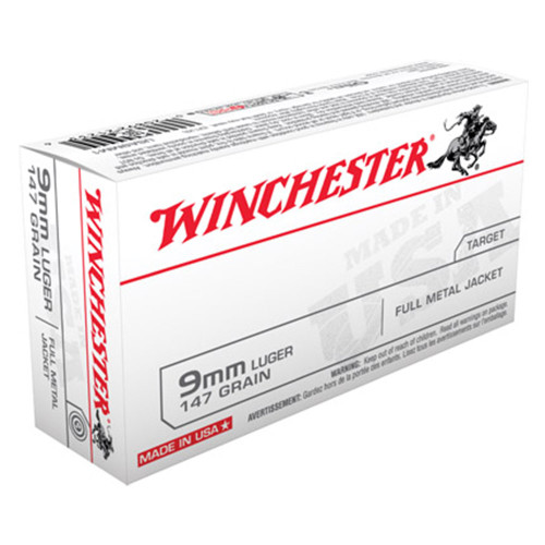 Winchester 9mm 147gr. Full Metal Jacket