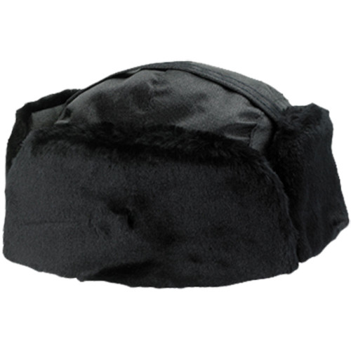 Alboum Fur/Nylon Winter Hat