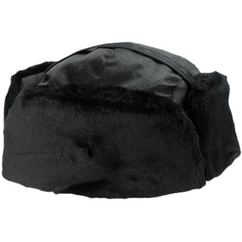 Alboum Fur/Nylon Winter Hat