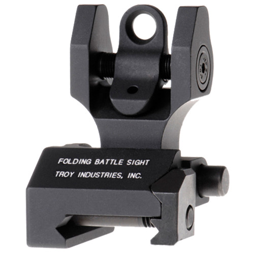 Troy Rear Folding BattleSight-Black
