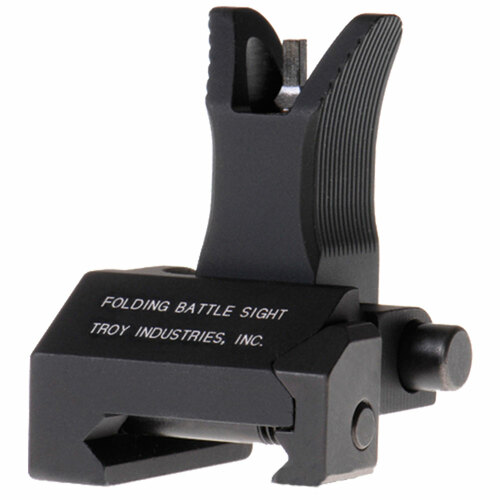 Troy Front Folding Battlesight- Black