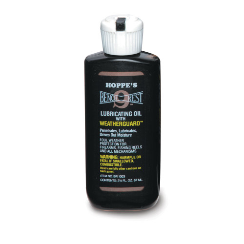 Hoppes 2.25oz Lubricating Oil Bottle