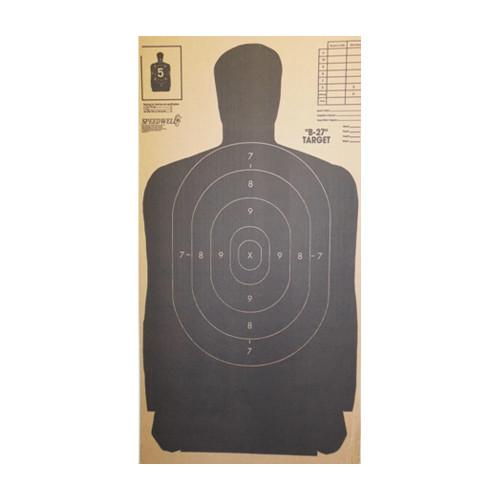 Speedwell B-27 Target (Case of 100)