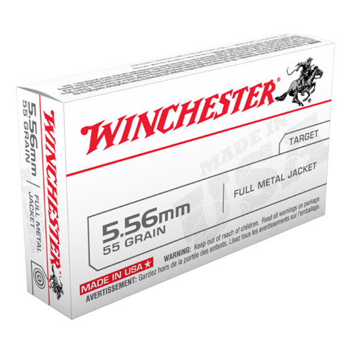 Winchester 5.56 55gr. Full Metal Jacket