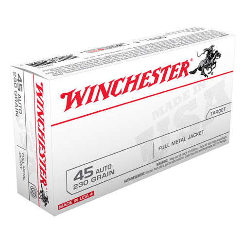 Winchester .45 230gr. Full Metal Jacket