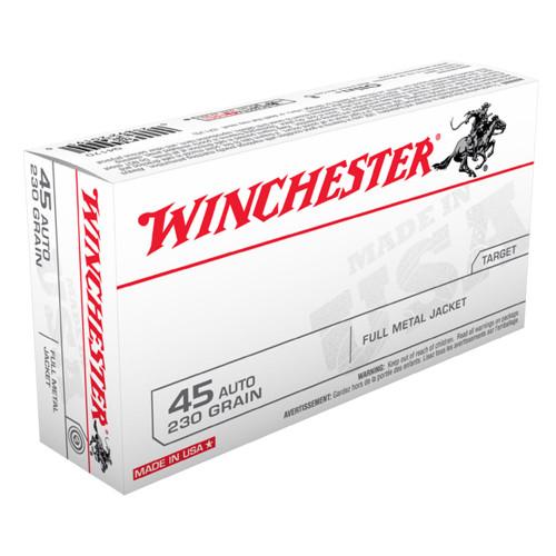 Winchester .45 230gr. Full Metal Jacket