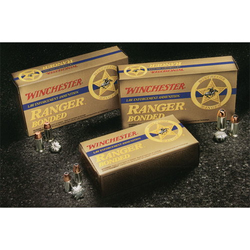 Winchester Ranger 9mm 124gr. JHP Bonded - Law Enforcement Only