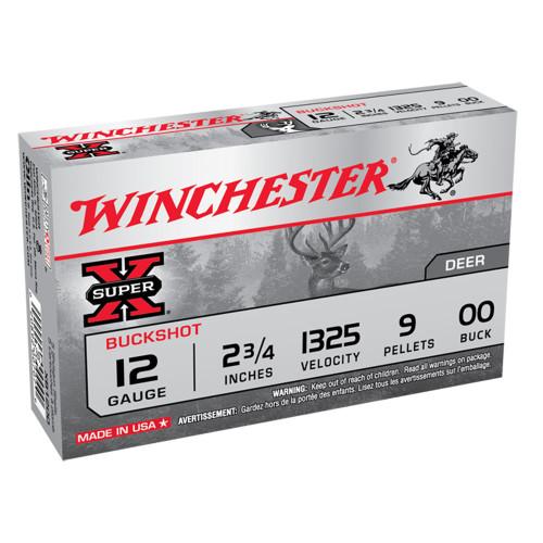 Winchester Super-X 12ga. 00 Buck 9 Pellet