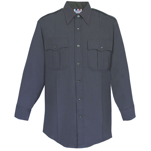 Fechheimer 65/35 Poly/Cotton DuroPoplin Long Sleeve Shirt