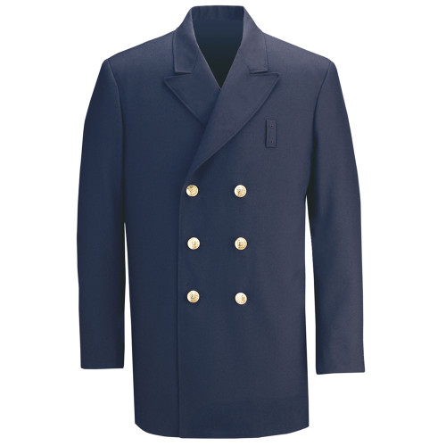 Feccheimer 34892 Double Breasted Poly/Wool Dress Coat