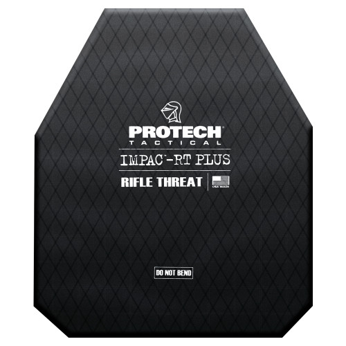 """Protech Impac-RT PLUS (Rifle Threats) Special Threat Plate 10""""x12"""" (Shooters Cut)"""