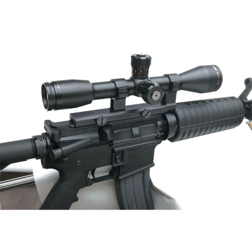 B-Square Colt AR-15 / M-16 Flat Top Fixed Scope Mount w/Integral Rings