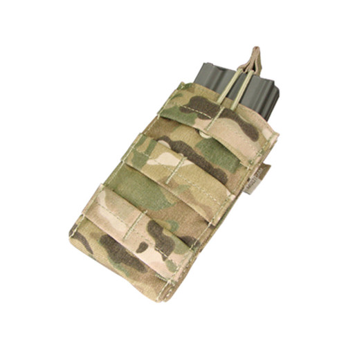Condor Single Open Top M4 Mag Pouch - Multicam