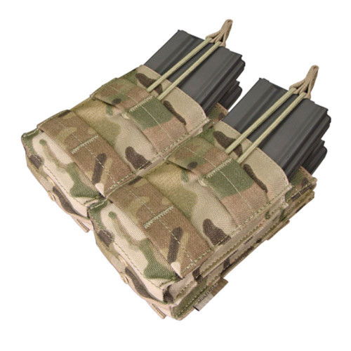Condor Double Stacker M4 Mag Pouch - Multicam