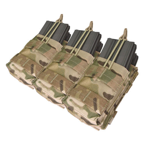 Condor Triple Stacker M4 Mag Pouch - Multicam
