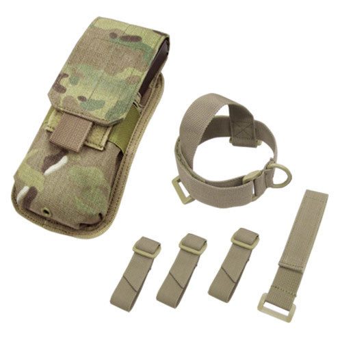 Condor M4 Buttstock Mag Pouch - Multicam