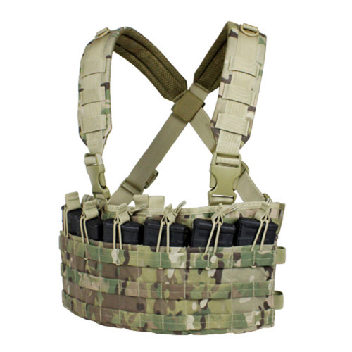 Condor Rapid Assault Chest Rig - Multicam