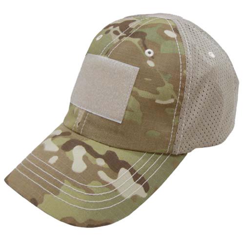Condor Mesh Tactical Cap - One Size - Multicam