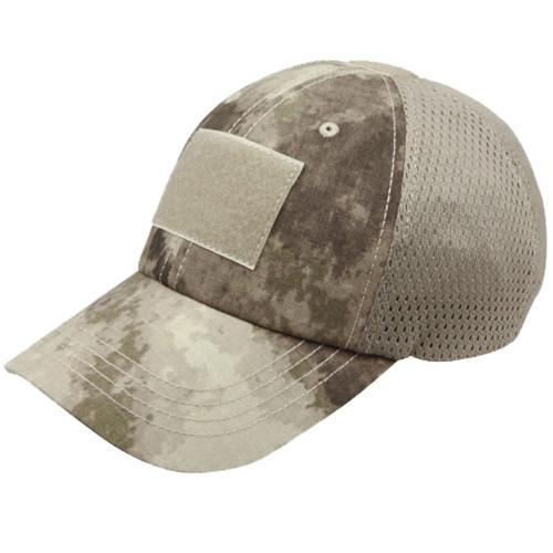 Condor Mesh Tactical Cap - One Size - A-Tacs