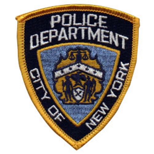 Emblem NYPD Shoulder Patch