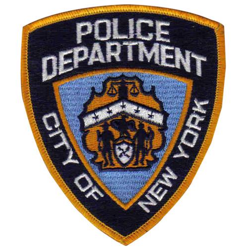 Emblem NYPD Hat Patch