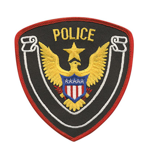 Premier Emblem Police Patch w/Eagle