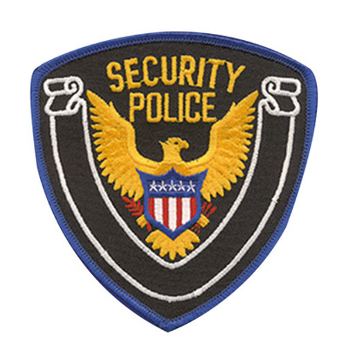 Premier Emblem Security Police Shield Patch w/Eagle