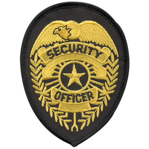 Premier Emblem Security Officer Shield Patch