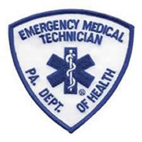 Emblem Pennsylvania Department of Health Patch - EMT