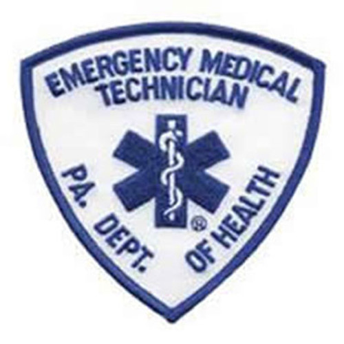 Emblem Pennsylvania Department of Health Patch - EMT