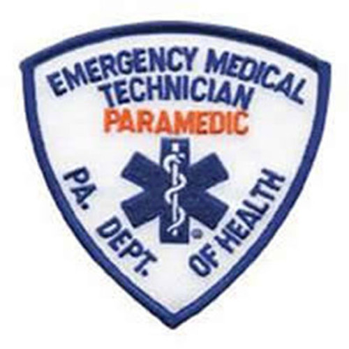 Emblem Pennsylvania Department of Health Patch - Paramedic