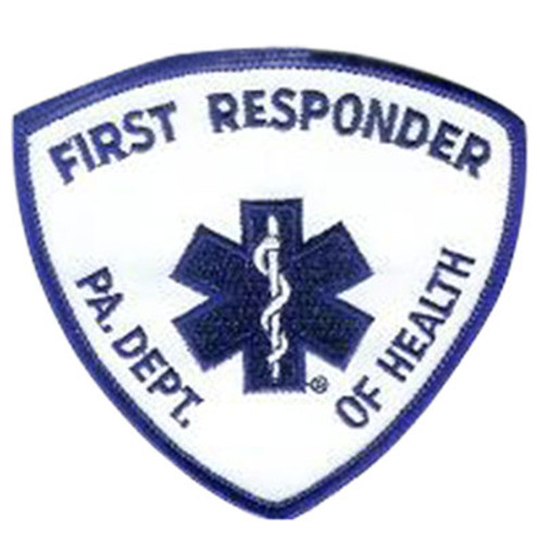Emblem Pennsylvania Department of Health Patch - First Responder