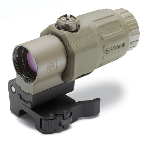 EOTech G33 Magnifier with STS Switch to SIde Mount - Tan