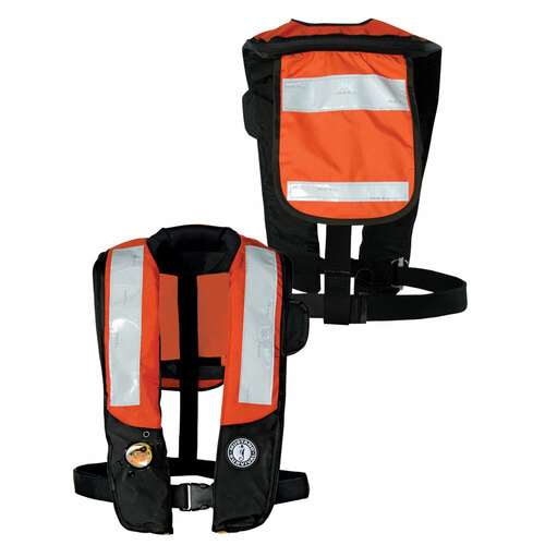 Mustang Survival Inflatable Personal Flotation Device - Solas Reflective Tape