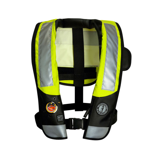 Mustang Survival Inflatable Personal Flotation Device - Hi-Vis Reflective Tape