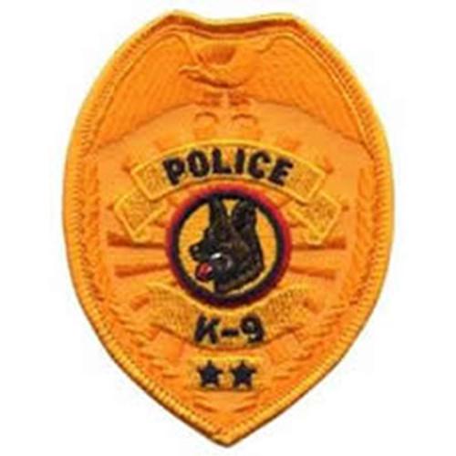 Emblem Police K-9 Badge Patch