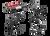 Surefire UDR Dominator Rechargeable LED Flashlight - UDR-A-BK