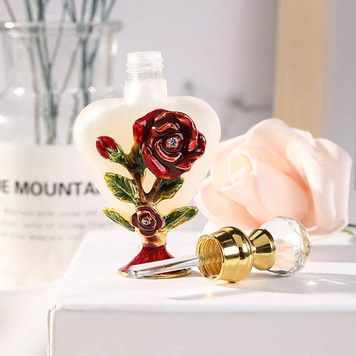 PB-RED Rose Perfume Bottle