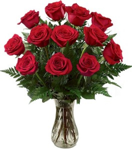 One-Dozen Red Roses