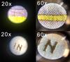 Pocket Micro™ 20x-60x LED Lighted Zoom Field Microscope