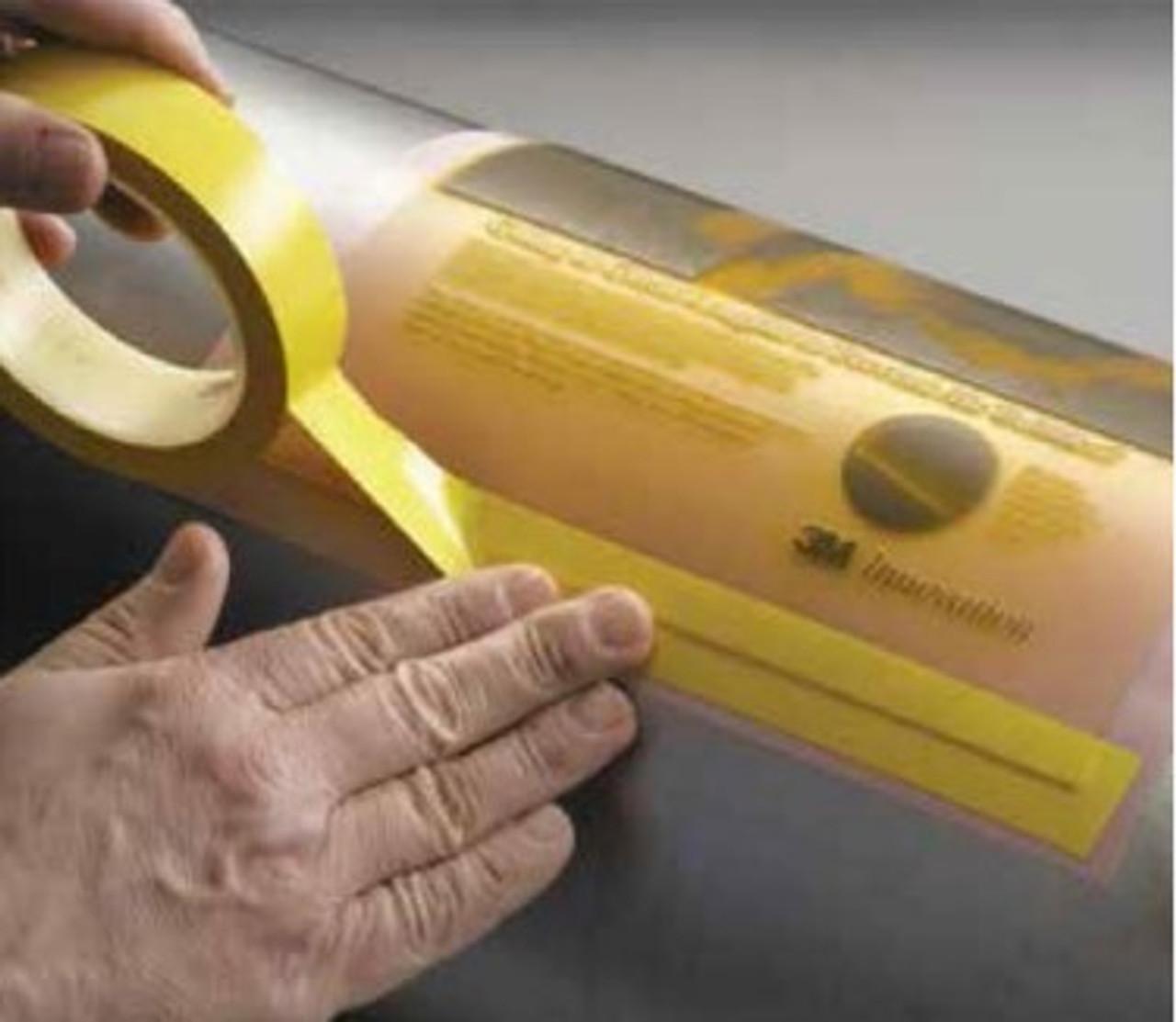 Yellow Vinyl Plate Tape