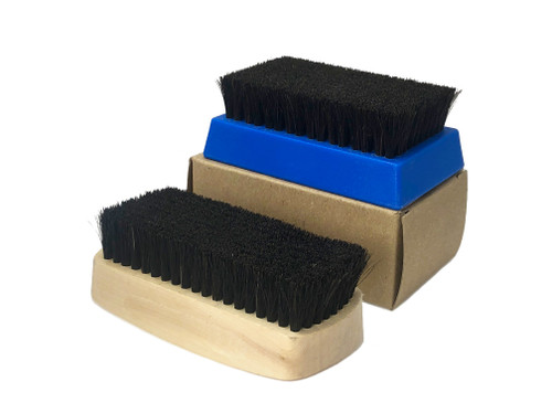 Brush, Horse Hair - Out of Stock of Plastic Handle  and Only qty 1 Wood Handle - Will have stock November 12, 2021 (Plastic & Wood Handles)