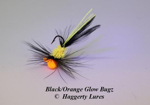 Black / Orange Glow Bugz