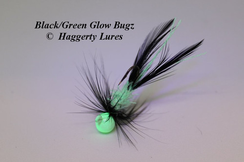 Black / Green Glow Bugz