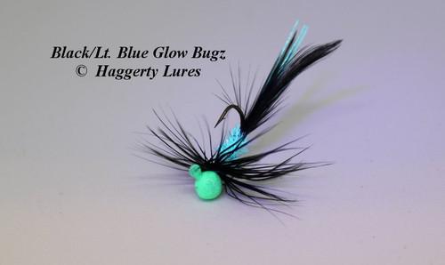 Black / Robin's Egg Blue Glow Bugz