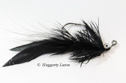 Black Lunker Hellraiser Fly