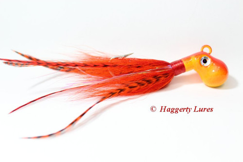 Sunset - Orange and Yellow Cobia jig