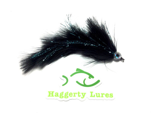 Marabou Game Changer - Black with blue flash