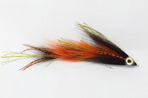 Orange & Black Bucktail Game Changer
