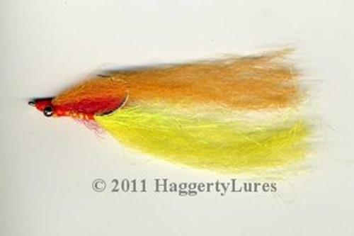 Clouser Minnow  - Hot Perch 1/0 to 3/0